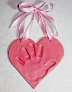 Baby-Hand-Impression-in-a-heart-shape-2