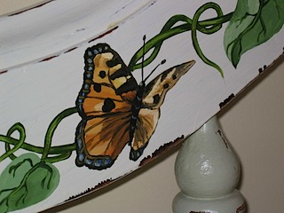 Baby Bed Detail Butterfly #1