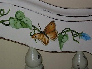 Baby Bed Detail Butterfly #2