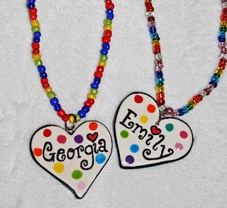 Children's Necklaces Georgia Emily