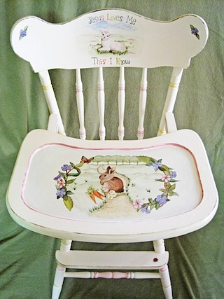 Custom High Chair