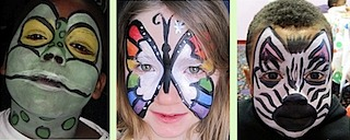 face painting index