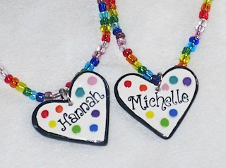 Girls Personalized Necklaces