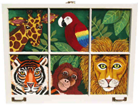 Jungle-Window-Painting