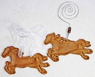 Running Horse Ornaments