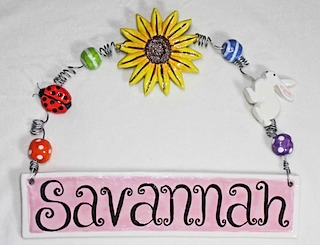 Savannah Name Plate