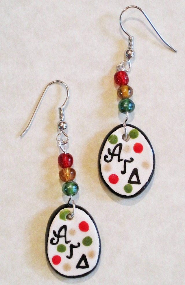 sorority jewelry earrings