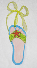 Starfish-Flip-Flop-foot-impression