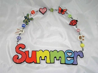 Summer Name Plate