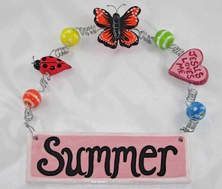 Summer Name Plate 2