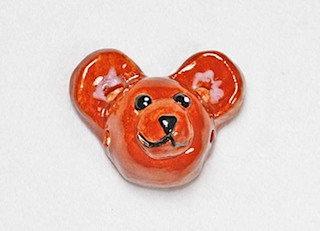 Teddy Bear Bead