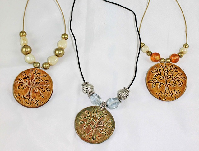 Tree of Life Necklaces by Amy Stone